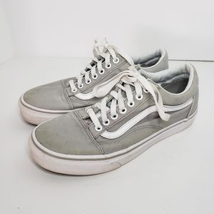 🐞Vans Clssic Gray Sneakers size 7